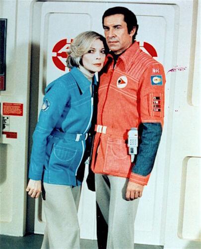 1975's SPACE: 1999 Martin Landau/Barbara Bain season two color 8x10 costume prt