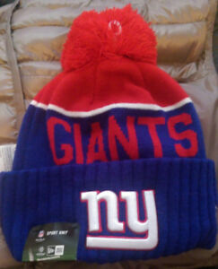 NEW YORK GIANTS WINTER HAT - BRAND NEW WITH TAG