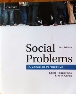 Social Problems , a canadian perspective .