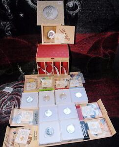 Looney Tunes Complete Set 10 coins of solid 999.9 proof silver London Ontario image 7