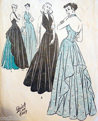CHART to Date Sewing Patterns 1939 - 1940s VOGUE ADVANCE + *NOT A PATTERN*