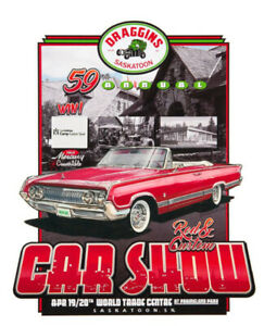 59th Annual Draggins Rod and Custom Car Show April 19-20th