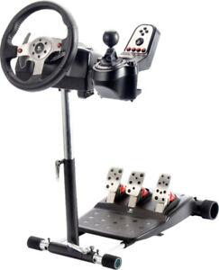 Logitech G25 Volant course/Racing Wheel + Wheel Stand Pro