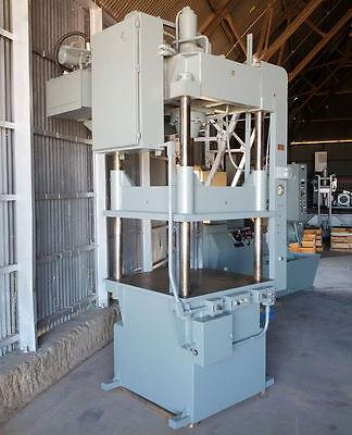 75 Ton Dake 27-153 Four-post Hydraulic Down-acting Press