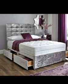 🔥 DIVAN BEDS FOR SALE 🔥 ALL COLOURS AND SIZES 💥 FREE DELIVERY