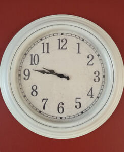 """20"""" Elegant Over-Size Wall Clock with Arabic Numerals"""