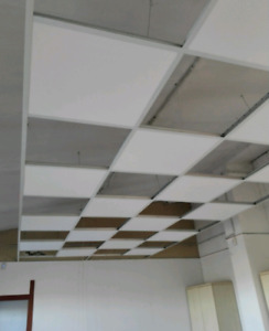 T-BAR CEILING, DROP CEILING INSTALLATION 416-723-4204
