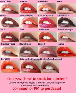 LipSense Colors & Glosses Available!
