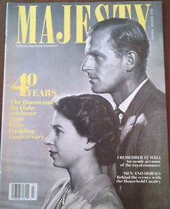 38 Issues of Majesty Magazines