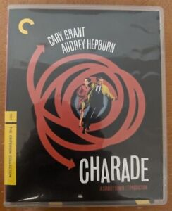 Charade The Criterion Collection Blu-Ray