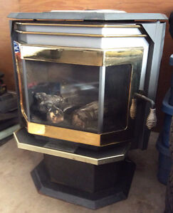 Oil fired fireplace/stove