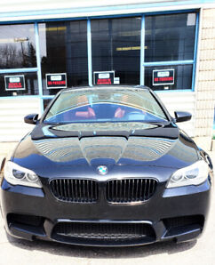 2012 BMW M5 with *EVERY OPTION AVAILABLE* Black on Burnt Red