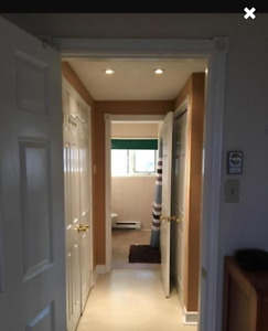 1 bedroom above ground basement + WiFi & Partially furnished !