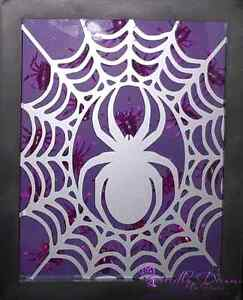Halloween Spider Shadow Box  Peterborough Peterborough Area image 3