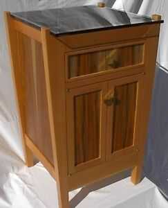 LIQUOR CABINET TEAK AND FIR ONE OF A KIND