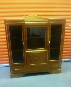 Vintage 40's/ 50's ? Style China Cabinet