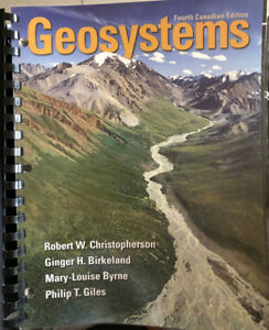 Geosystems Fourth Canadian Edition textbook