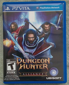 PS Vita Dungeon Hunter: Alliance