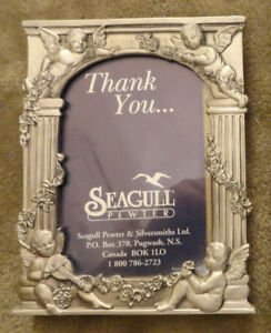 Genuine Seagull Pewter picture frames - various