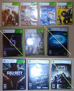 xbox 360 games new and used