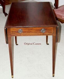 Antique Mahogany Drop-leaf Pembroke Table - New Price Kingston Kingston Area image 2