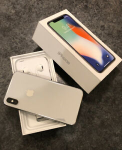 iPhone X (256) Silver