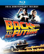 New! Back to the Future 25th Anniversary Trilogy -Blu-ray Disc, 2011, 3-Disc Set