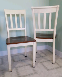 Set of Solid Wood Chairs