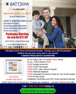 RECEIVE $1000 VISA GIFT CARD WITH EVERY SMART SECURITY SYSTEM