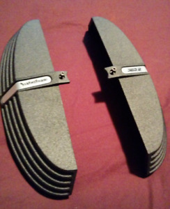 Rockford Fosgate power punch amp amplifier end caps like new!