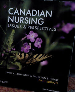 Canadian Nursing issues & Perspectives, Fifth edition
