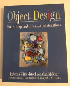 """Object Design"" by Rebecca Wirfs-Brock and Alan McKean"