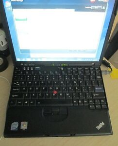 Ultra portable business class ThinkPAD x61s Windows 7 Pro