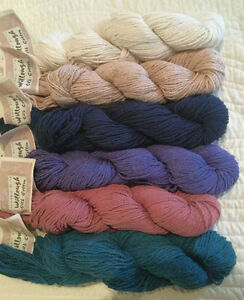 Silk and cotton yarn