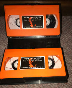 Halloween (1978) Limited Edition VHS 2 tape box set Only 40,000