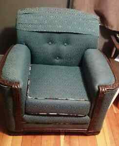 Handcrafted Arm Chair Peterborough Peterborough Area image 1