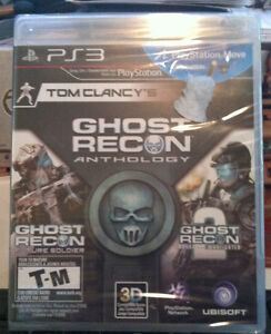 PS3 Ghost Recon Anthology