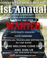FATHER'S DAY CAR SHOW & SWAP MEET