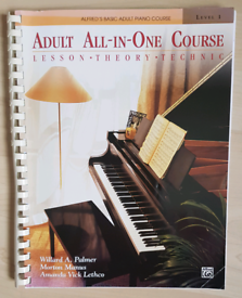 Adult All-in-one piano course