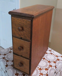 Drawer Stack from Anntique Singer Sewing Machine Cabinet