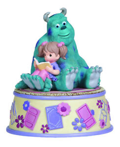 Precious Moments 132105 Disney Girl Reading with Sully Musical