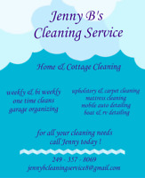 Residential and summer rental cottage cleaner