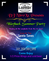 Summer wayback party in loretto