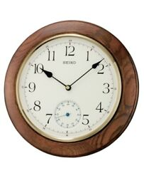 NB - Seiko Wall Clock with Quiet Sweep Second Hand QXA432B