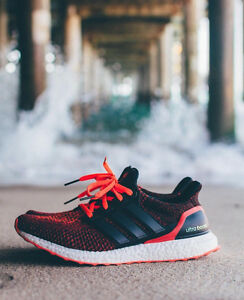 DS Adidas Originals Ultraboost Solar Red sz 6