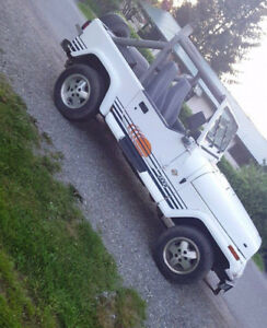 1991 Jeep YJ Islander Edition