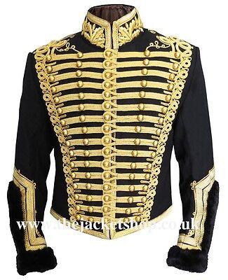 Officers Napoleonic Hussars Uniform Military Tunic Pelisse - Jacket
