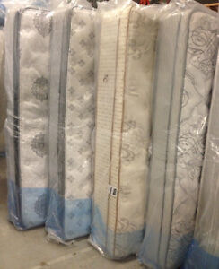 BRAND NEW (BEDS) MATTRESSES and BOXSPRINGS, ALL SIZES AVAILABLE