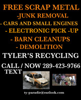CALL 9055505067 SCRAP REMOVAL AND JUNK PICK UP