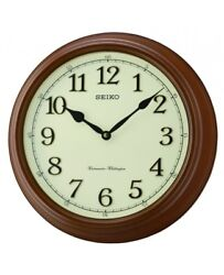 Seiko Wall Clock with Westminster Whittington Chimes - QXD214B NEW